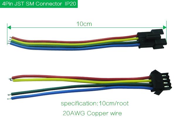 JST SM Male&Female Connectors