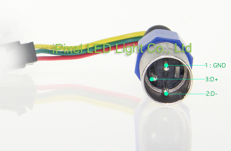 3Pin XLR Male connector