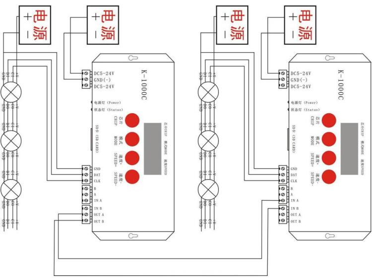 k-1000c - led controller - products