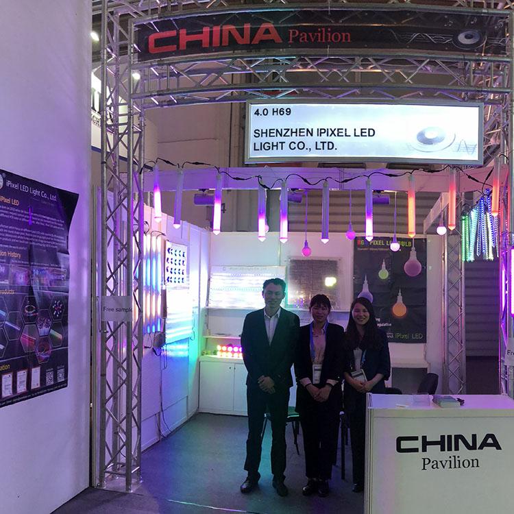 iPixel LED Attended the Prolight+Sound in Frankfurt