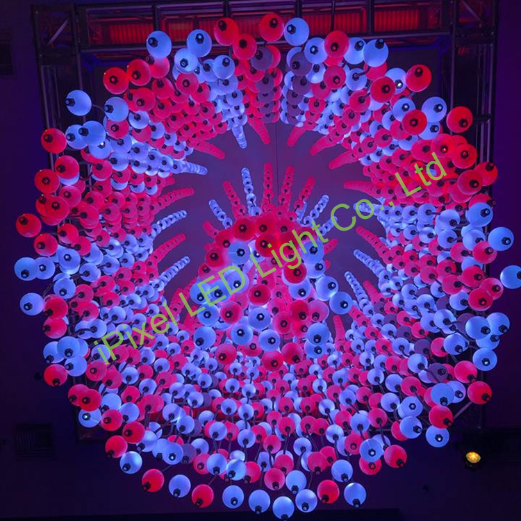 360°led ball project in USA