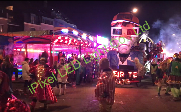 Carnaval project of Belgium customers