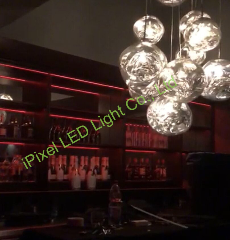 SK6812 RGBW LED strip project in club